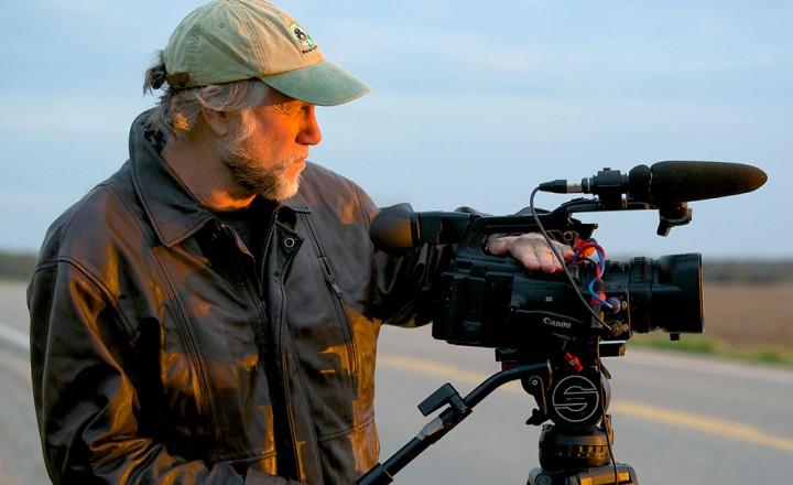 Director Abbey Neidik on the set